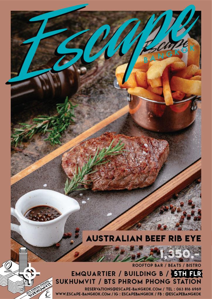 AW Menu Food ESC_No.2 price_Australian beef Rib Eye