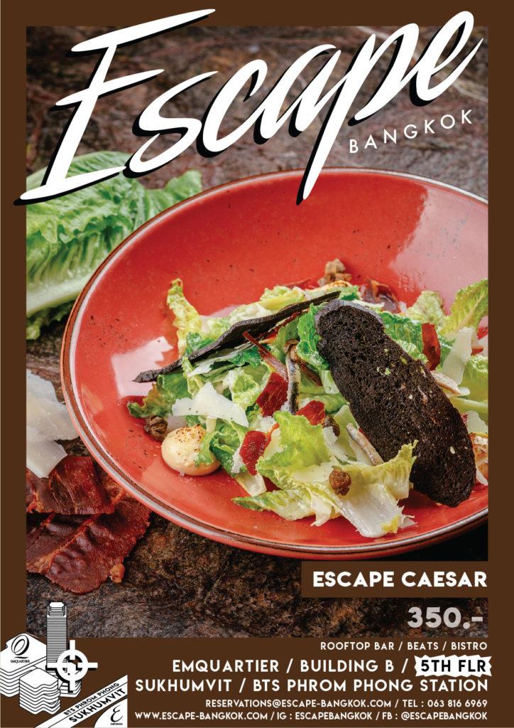 AW Menu Food ESC_No.2 price_escape Caesar