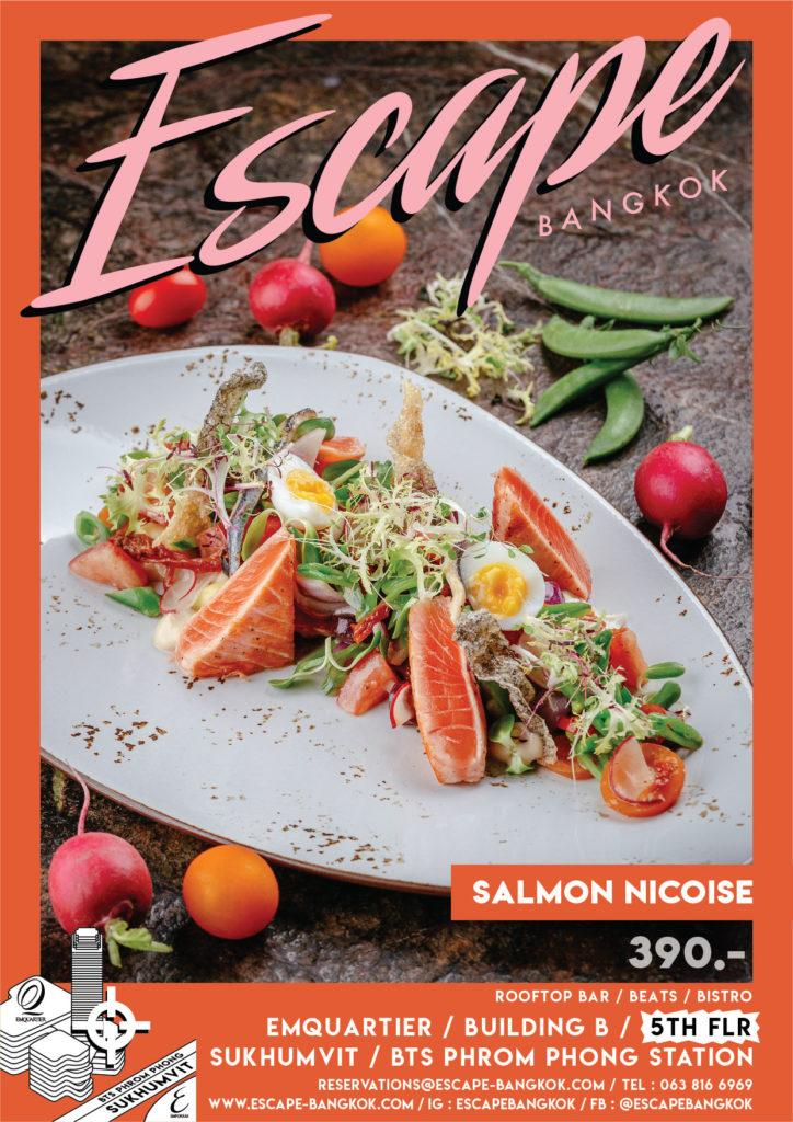 AW Menu Food ESC_No.2 price_Salmon Nicoise